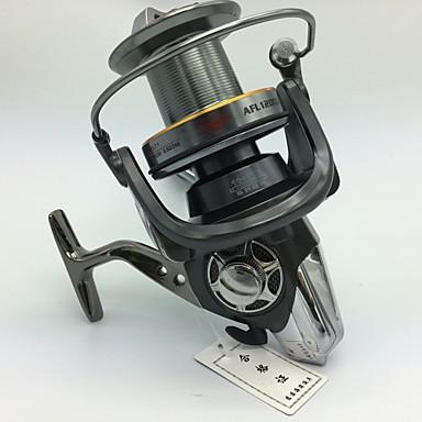 גלילי חכות סלילי טווייה 4.7:1 יחס ציוד+10 מיסבים כדוריים ניתן להחלפה דיג בים Spinning חכות וסירת דיג - AFL9000