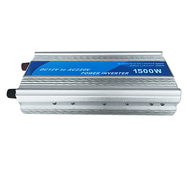 1500W meind strøm inverter 12v til 220v