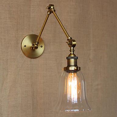 Traditional/Classic Swing Arm Lights For Metal Wall Light 110-120V 220-240V 40WW