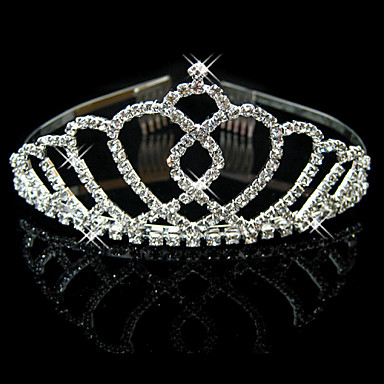 Žene Umjetno drago kamenje Kristal Legura Glava-Vjenčanje Special Occasion Tiaras 1 komad