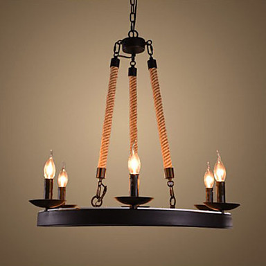 Privjesak Svjetla ,  Traditional/Classic Rustic/Lodge Retro Zemlja Vintage Electroplated svojstvo for Mini Style MetalLiving Room Bedroom