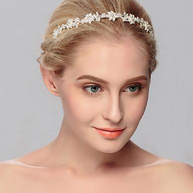 ריינסטון tiaras headpiece מסיבת החתונה אלגנטי בסגנון נשי