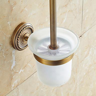 Toalettbørsteholder Tradisjonell Messing 1 stk - Hotell bad