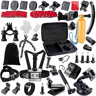 Accessoires Kit 49 in 1 Verstellbar Anti-Shock Wasserfest Staubdicht Schwimmend Zum Action Kamera Gopro 5 Xiaomi Camera Gopro 4 Gopro 3