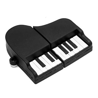 zpk02 8GB musta piano usb 2.0 muistitikku u kiinni
