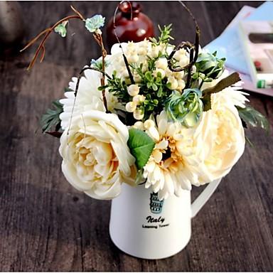 Silkki Ruusut / Päivänkakkarat / Hedelmä Keinotekoinen Flowers