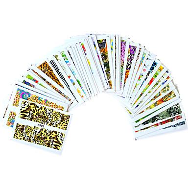 3D Nail Stickers - Muuta - Sarjakuva / Lovely - Sormi / Varvas - 15cm x 10cm x 5cm (5.91in x 3.94in x 1.97in) - 40PCS