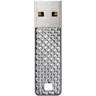 실버 빛나는 샌 디스크 크루저 패싯 cz55 32 기가 바이트 USB 2.0 플래시 드라이브