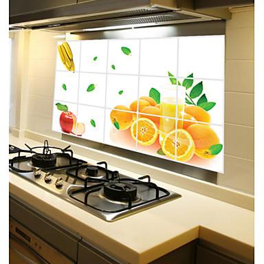 Gute Qualität 1pc Papier Öl-feste Aufkleber Arbeitsutensilien, Küche Reinigungsmittel