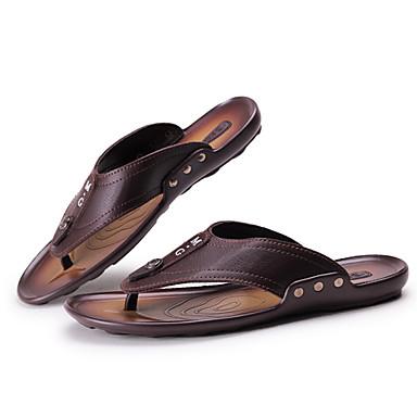 Masculino sapatos Courino Primavera Verão Outono Para Casual Preto Marron