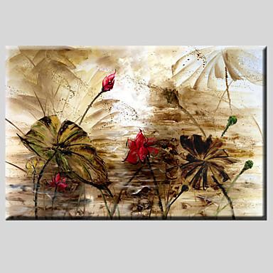 Maalattu Maisema Vaakatasoinen panoraama, Klassinen Moderni Realismi Pastoraali European Style Kangas Hang-Painted öljymaalaus