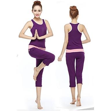 יוגה מדים בסטים נושם רכות מתיחה בגדי ספורט בגדי ריקוד נשים יוגה פילאטיס