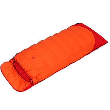 Jungle King Saco de dormir Retangular Penas de Pato -10℃°C Manter Quente 220X85 Viajar Jungle King Solteiro (L150 cm x C200 cm)