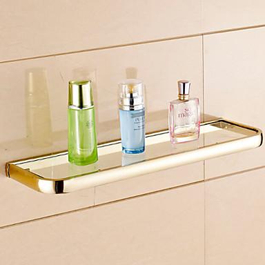 Kylpyhuonehylly Nykyaikainen Messinki 1 kpl - Hotelli kylpy