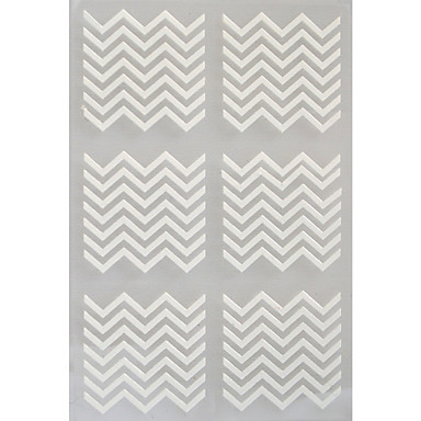 3D Nail Stickers - Muuta - Abstrakti - Sormi / Varvas - 13*7.5 - 5 sheets