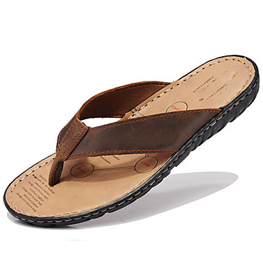 05788138 pour couple Automne De Cuir Eté Printemps d'Eau amp; Chaussures Décontracté Unisexe Chaussures plein Nappa air Tongs Chaussons Chaussures AqUCO