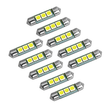 YouOKLight 10pcs T10 / Festong Elpærer SMD 5050 60 lm Blinklys For Universell