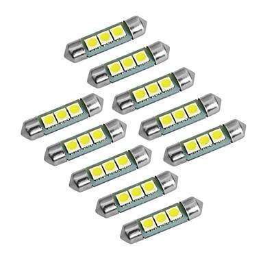 رخيصةأون مصابيح أضواء السيارة الداخلية-YouOKLight سيارة لمبات الضوء 1W SMD 5050 60lm LED أضواء الداخلية