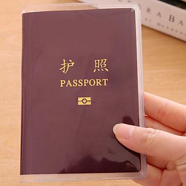 נסיעות נרתיק לדרכון ותעודת זהות אחסון לטיולים דמוי עור