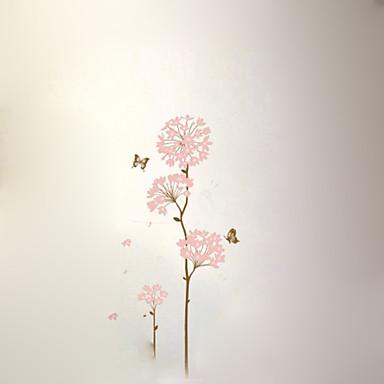 Kukkakuviot Maisema Wall Tarrat Lentokone-seinätarrat Koriste-seinätarrat materiaali Irroitettava Kodinsisustus Seinätarra
