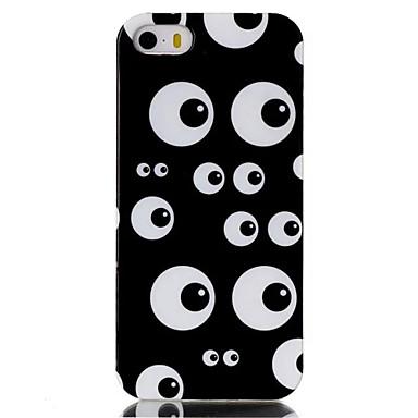 Etui Käyttötarkoitus iPhone 5 kotelo Kuvio Takakuori Piirretty Pehmeä TPU varten iPhone SE/5s iPhone 5