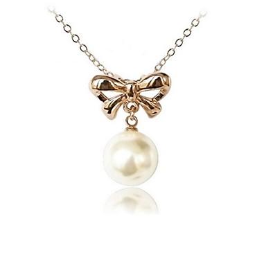 Kadın's Kristal Uçlu Kolyeler - Kristal Gümüş, Altın Kolyeler Uyumluluk Düğün, Parti, Günlük