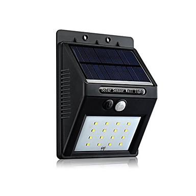 1 Stück LED-Solarleuchten Solar Wasserfest / Sensor / Wiederaufladbar