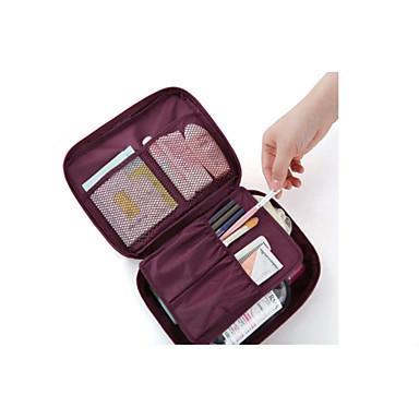 Reisetasche Reisekosmetiktasche Kosmetik Tasche Reisekoffersystem Wasserdicht Staubdicht Kulturtasche für Kleider Polyester / Damen Reise