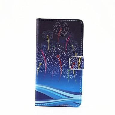 Capinha Para Samsung Galaxy Samsung Galaxy Capinhas Porta-Cartão Com Suporte Flip Magnética Estampada Corpo Inteiro dandelion Couro