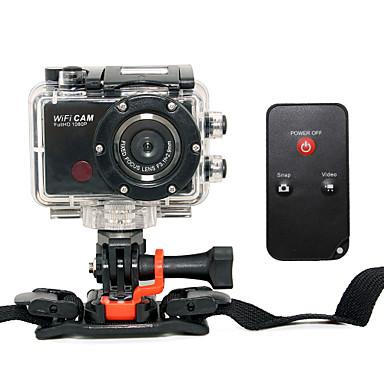 F21 Action Kamera / Sport-Kamera 5mp 3264 x 2448Pixel WiFi / Anti-Shock / Smile Detection 4X CMOS 32GB H.264 Englisch 50m Skifahren /