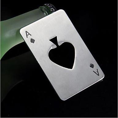 Abridor de Garrafa Aço Inoxidável, Vinho Acessórios Alta qualidade CriativoforBarware 8.5*5.3*0.2 0.04
