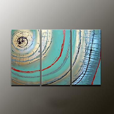 Ručno oslikana SažetakModerna Tri plohe Platno Hang oslikana uljanim bojama For Početna Dekoracija