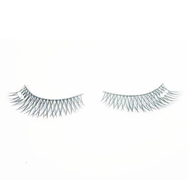 עין 1 ריסים מורמים איפור יום ריסים מלאים הסוף ארוך 1cm-1.5cm