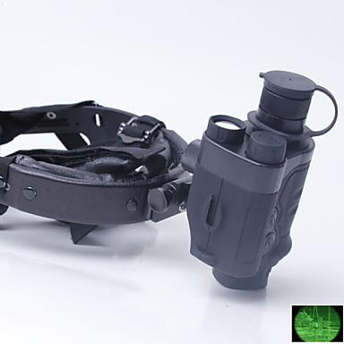 GUOANTAI 1X24 mm Monocular Night Vision Goggles Militar Visão Nocturna Caça Militar BAK4 Revestimento Múltiplo Total 30°Sem Mecanismo de