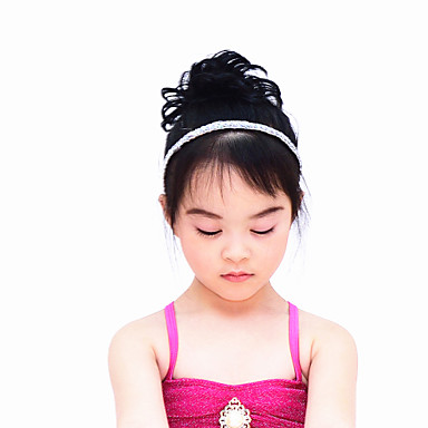 Dance Accessories Headpieces Women's Children's Performance Sequined Paillette Ruffles Hair Band