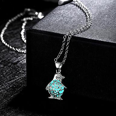 Damen Anhängerketten - Modisch, nette Art Grün, Blau, Hellblau Modische Halsketten Für Hochzeit, Party, Alltag
