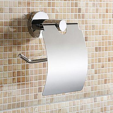 Držač toaletnog papira,Suvremeni Krom Zidna montaža