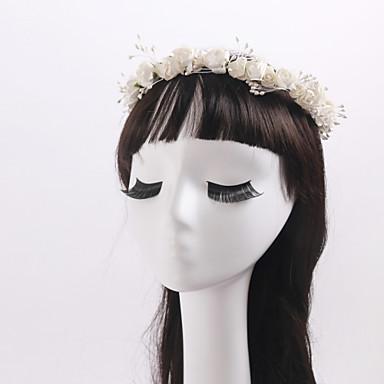 Künstliche Perle Stoff Kränze 1 Hochzeit Besondere Anlässe Normal Draussen Kopfschmuck