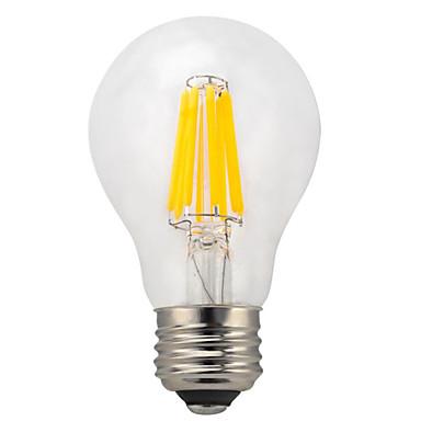 E26/E27 LED필라멘트 전구 A60(A19) 10 LED가 COB 방수 장식 따뜻한 화이트 차가운 화이트 950lm 2700K AC 220-240V