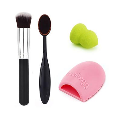 Corretivo+Concealer / Contour / Pincéis de Maquiagem Pincéis de Maquiagem Rosto