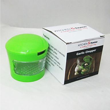 Ferramentas para Alho Aço Inoxidável / ABS,