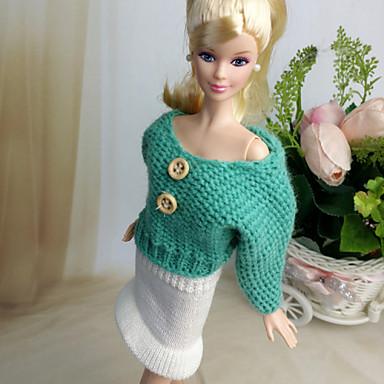 שמלות ל ברבי דול חצאיות עליוניות ל הילדה של בובת צעצוע
