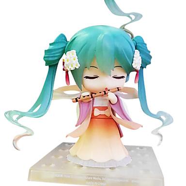 נתוני פעילות אנימה קיבל השראה מ Vocaloid Hatsune Miku 10 CM צעצועי דגם בובת צעצוע