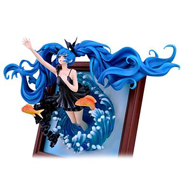 애니메이션 액션 피규어 에서 영감을 받다 보컬로이드 Hatsune Miku 23 CM 모델 완구 인형 장난감