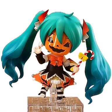 Figuras de Ação Anime Inspirado por Vocaloid Hatsune Miku PVC 10 CM modelo Brinquedos Boneca de Brinquedo