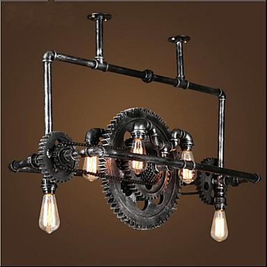 lixão de tubos de ferro artesanato industrial pendurado lâmpada alta qualidade