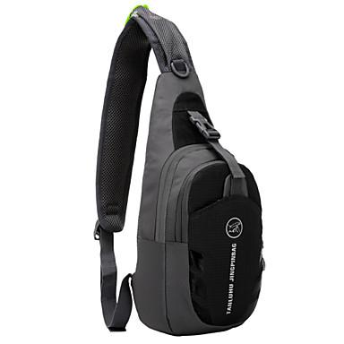 TANLUHU 5 L Umhängetasche / Brusttasche für Radsport / Fahhrad Sporttasche Wasserdicht / Tragbar / tragbar Tasche zum Joggen Nylon Purpur / Grün / Blau