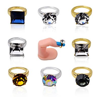 Other Decorations-Muuta-Lovely-Sormi-1.7cm*1.2cm-5pcs Nail art rings