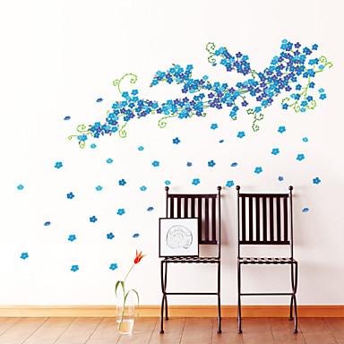 Landschaft Romantik Mode Formen Blumen Feiertage Cartoon Design Fantasie Botanisch Wand-Sticker Flugzeug-Wand Sticker Dekorative Wand