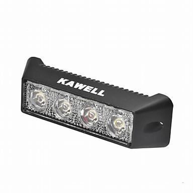 KAWELL Carro Lâmpadas 12W 800lm 4 LED Luz de Trabalho